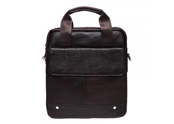 Мужская кожаная сумка Keizer K18859-brown