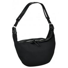 Женская текстильная сумка Mona W04-219A Черная