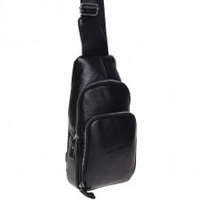 Мужской кожаный рюкзак Borsa Leather K15058-black