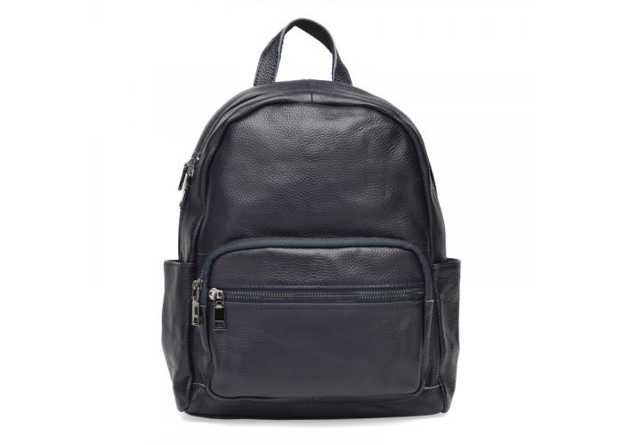 Женский кожаный рюкзак Keizer k110086bl-blue