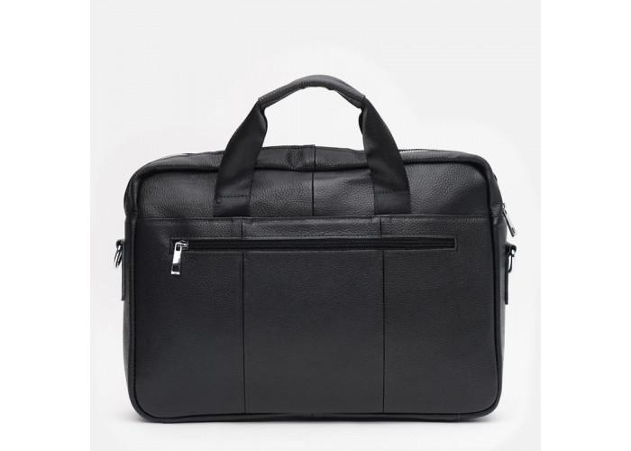Мужская кожаная сумка Keizer K19029bl-black