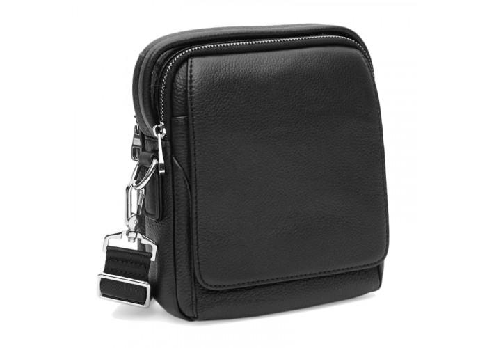 Мужская кожаная сумка Ricco Grande K12053-black