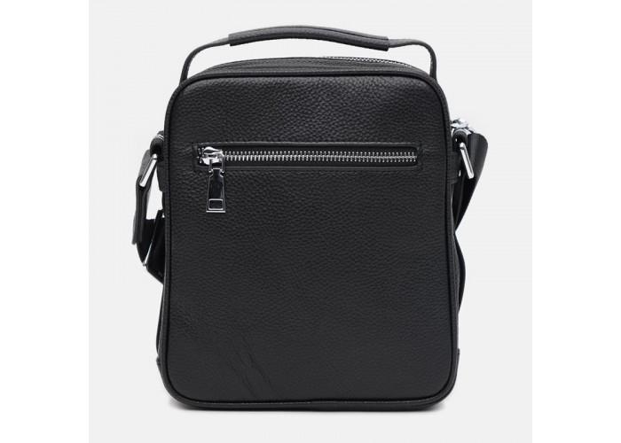 Мужская кожаная сумка Ricco Grande K16607а-black