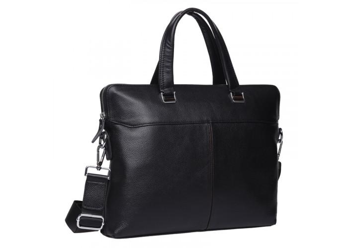 Мужская кожаная сумка Keizer K19158-1-black