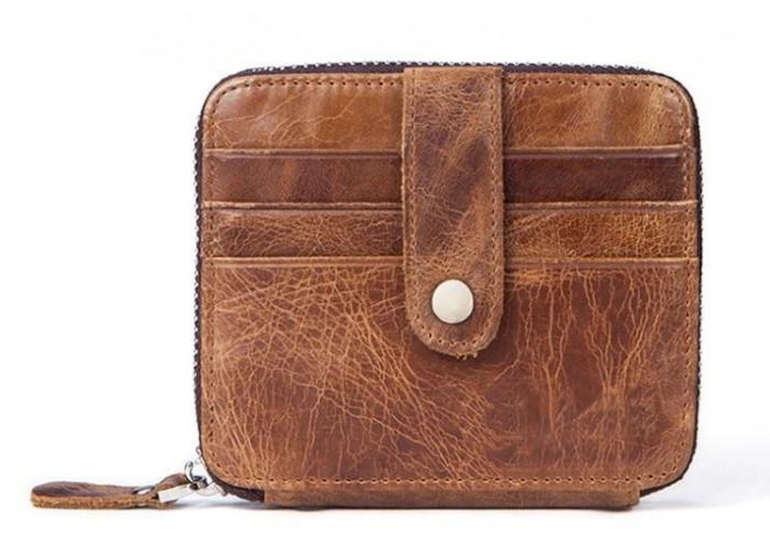 Картхолдер кожаный Vintage 14936 Светло-Коричневый