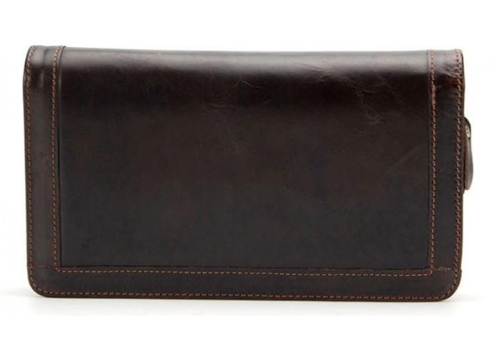 Клатч мужской с ремнем Vintage 14679 Коричневый