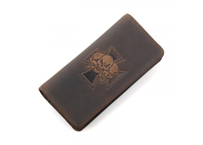 Бумажник мужской Vintage 14376 Коричневый