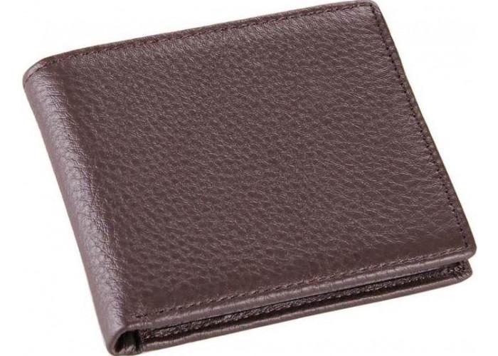 Бумажник мужской Vintage 14515 кожаный Коричневый