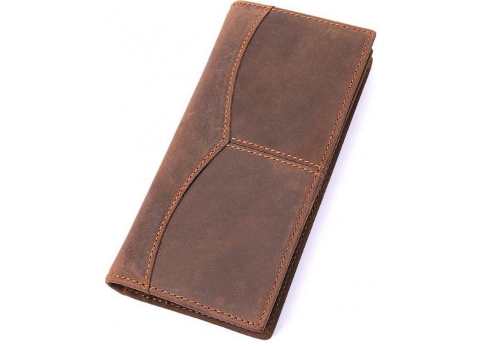 Бумажник мужской Vintage 14615 Коричневый