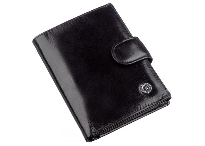 Классический мужской кошелек Boston 18811 Черный