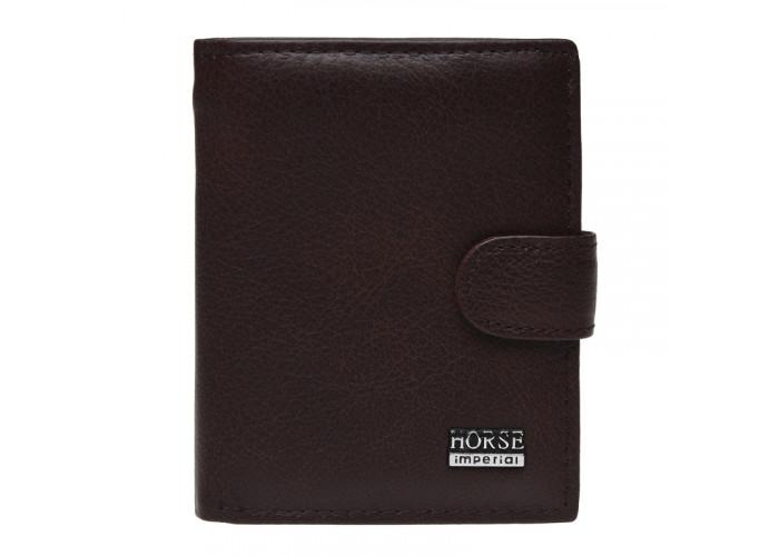 Мужской кожаный кошелек Horse Imperial K1010a-brown