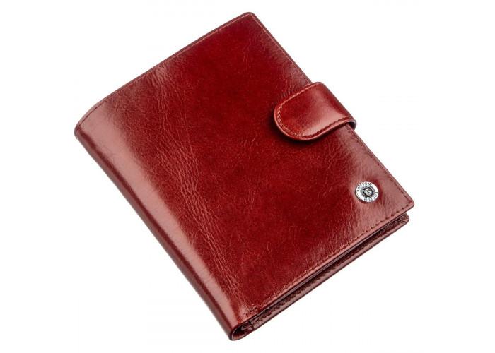 Вместительный мужской бумажник Boston 18814 Коричневый