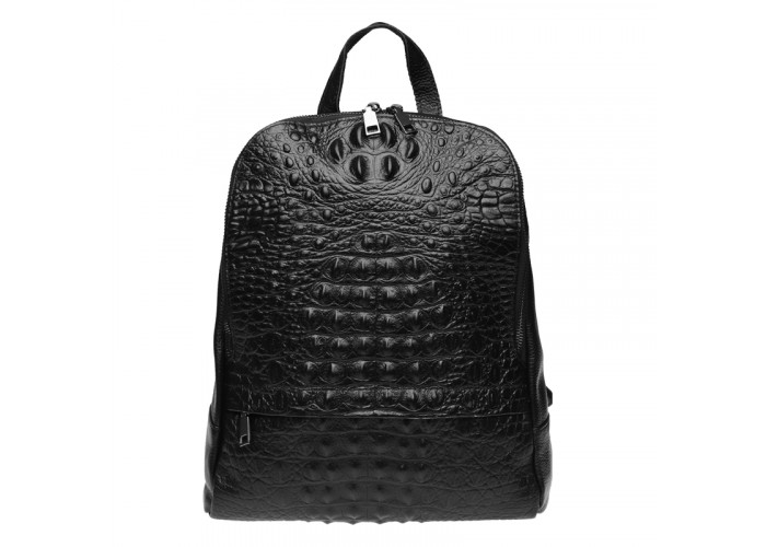Женский кожаный рюкзак Keizer K111085-black