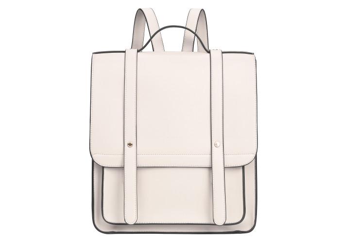 Женский рюкзак Ecosusi белый (ES1202001A022)