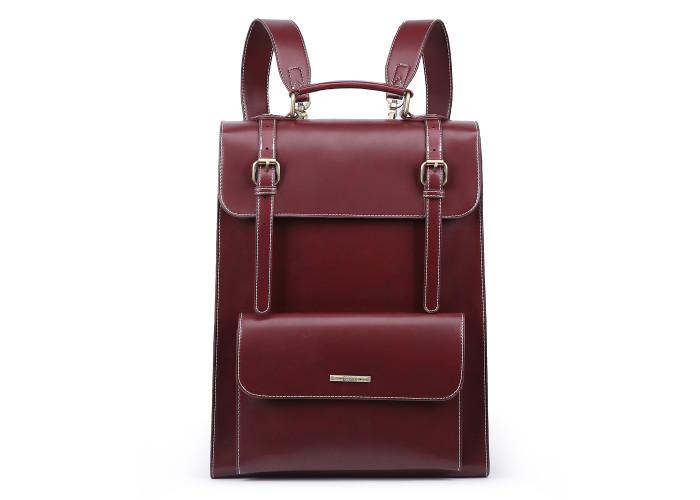 Женский рюкзак Ecosusi бордовый (ES1103005A058)