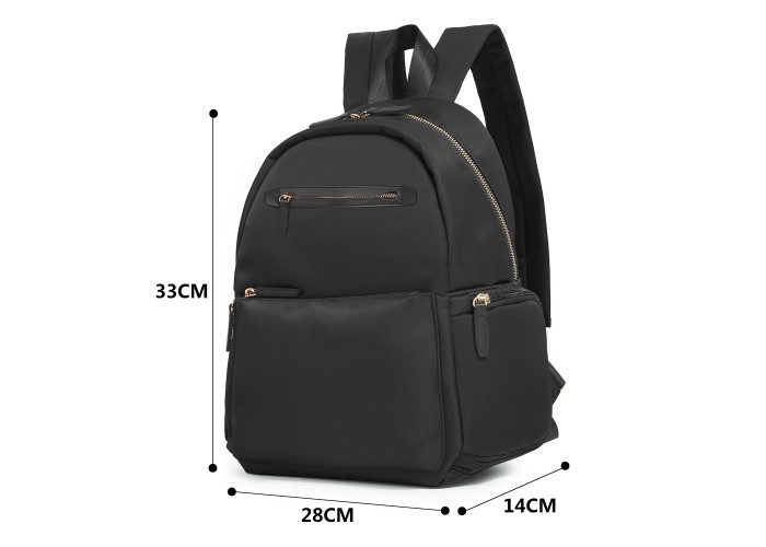 Женский рюкзак Ecosusi Fashion черный (0040082A001)