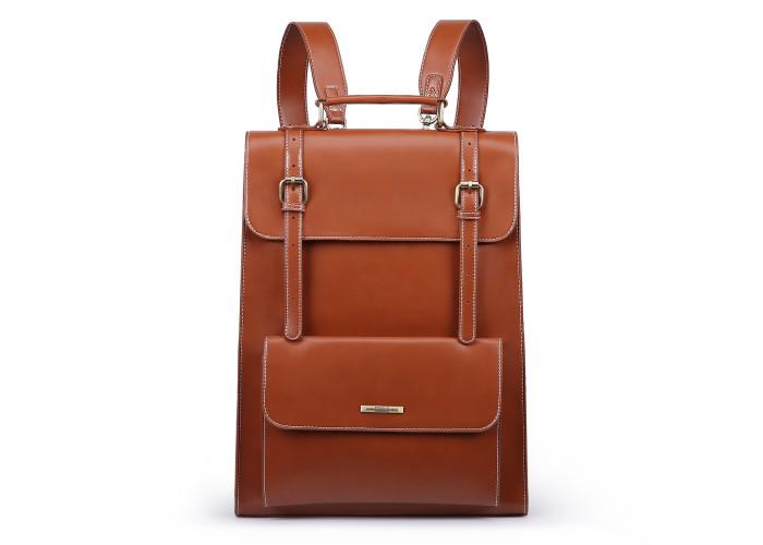 Женский рюкзак Ecosusi коричневый (ES1103005A003)