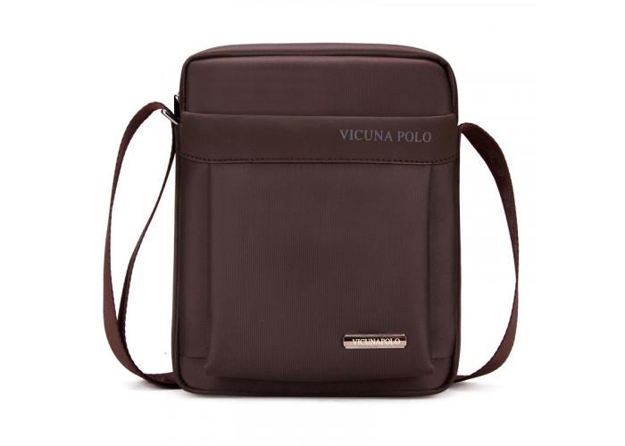 Мужская сумка Polo Vicuna коричневая (8805-2-BR)