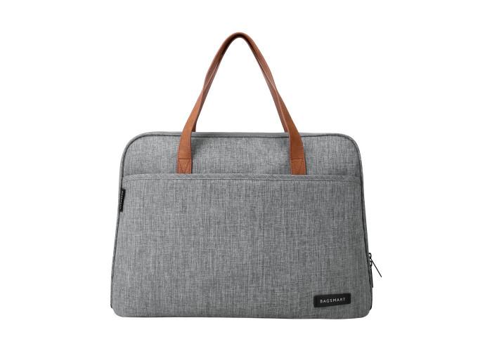 """Сумка для ноутбука 14"""" Bagsmart серая (BM0140008A008)"""