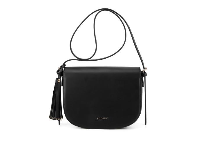 Женская сумка через плечо Ecosusi черная (ES1204011A001)