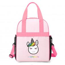 Детская розовая сумочка для завтраков UNICORN (0240011A012)