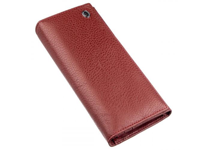 Классический женский кошелек ST Leather 18893 Бордовый